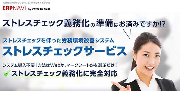 ERP NAVI |ストレスチェックサービス(大塚商会)